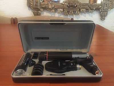 Keeler Tycos Diagnostic Set Otoscope and Ophthalmoscope with specula holder