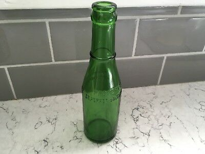GREEN Property Dr. Pepper Bottling Co. Lawrence Kansas 8 Oz. Bottle VGC