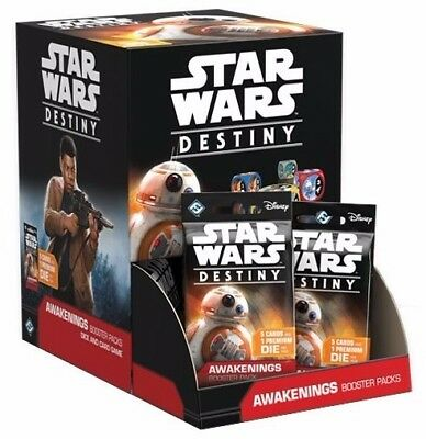 Star Wars Destiny: Awakenings Booster Box Display 2x still sealed