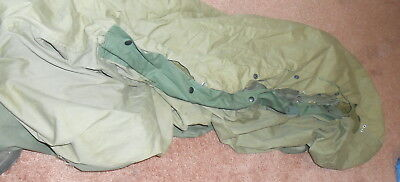 WWII US Army Sleeping Bag Cover and Liner Near Mint