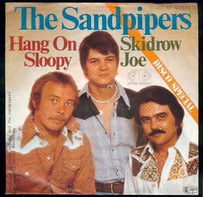 "Oldie Single 7""  The Sandpipers - Hang on sloopy"