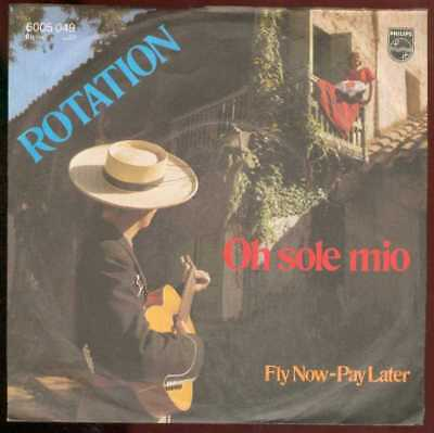 "Oldie Single 7"" Rotation - Oh sole mio"