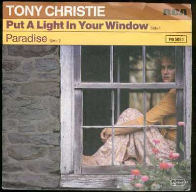 "Oldie Single 7"" Tony Christie - Put a light in your window"
