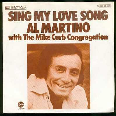 "Oldie Single 7"" Al Martino - Sing my love song"