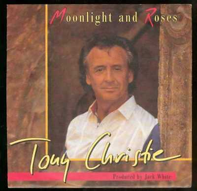 "Oldie Single 7"" Tony Christie - Moonlight and roses"