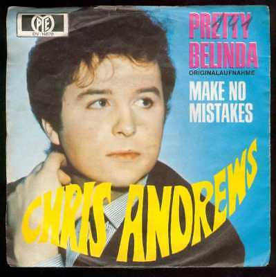 "Oldie Single 7"" Chris Andrews - Pretty belinda"