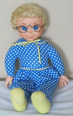 1967 MATTEL MRS. BEASLEY FAMILY AFFAIR DOLL W/Collar & Apron doesn't TALK