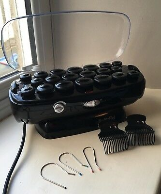 BaByliss Thermo Ceramic Heated Hair Rollers & Clips