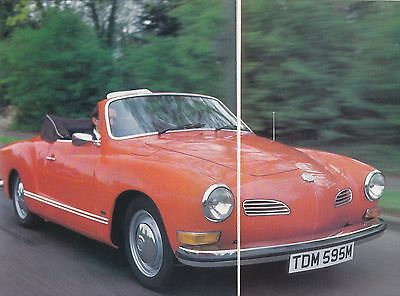 12 LOT Old VOLKSWAGEN Air-Cooled Beetle, Karmann Ghia, Multi-Page Mag Articles