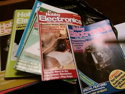 Hobby Electronics magazines job lot Nov 78 to May 83 (see listing)