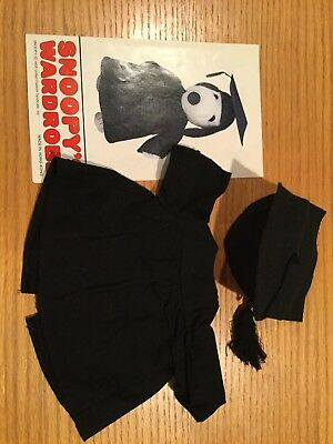 vintage Snoopy Graduation Outfit