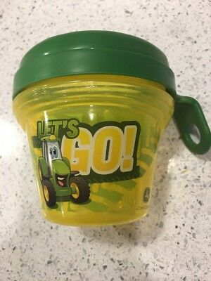 The First Years Child Kids Food Storage Container Cup John Deere