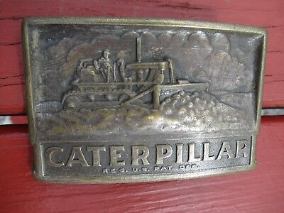 CAT Caterpillar Cable Blade Track-Type Tractor Belt Buckle Leavens Mfg. USA