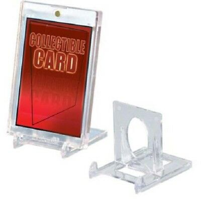 (10 Pack) Ultra Pro 2-Piece Adjustible Card Stands - Put Your Cards On Display!