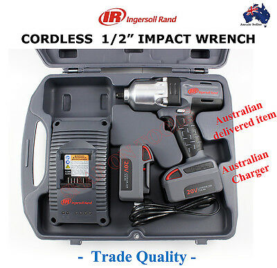 """Ingersoll Rand 1/2"""" Cordless Impact Wrench Trade Quality Tools Gun High Torque"""