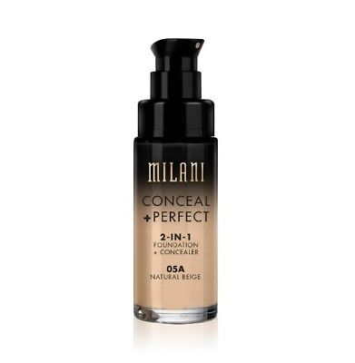 MILANI Conceal + Perfect 2-In-1 Foundation + Concealer *05A Natural Beige*