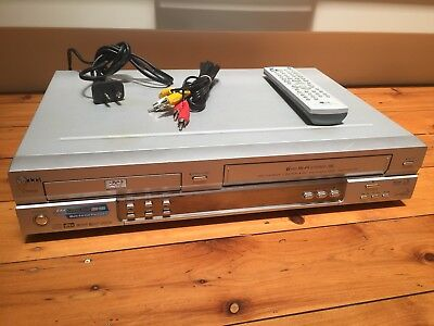 LG Combo DVD / VCR Machine Hi-Fi Stereo VHS Video Recorder and Player + Remote