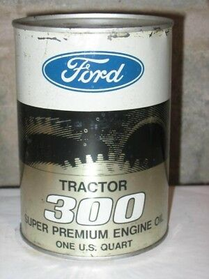 Original Ford Tractor 300 Motor Oil Quart Can