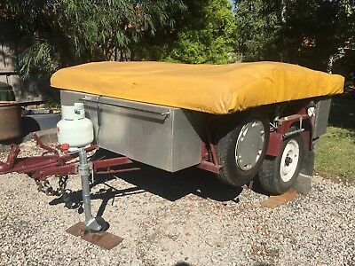 Camper Trailer, home made, sturdy, good condition