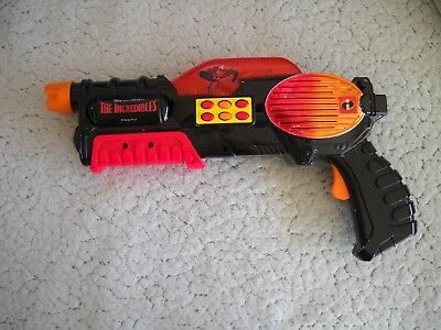 Disney /Pixar The Incredibles Lights And Sound Ray Gun Blaster