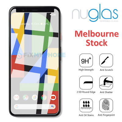 Genuine NUGLAS for Google Pixel 1 2 3 3A XL Tempered Glass Screen Protector