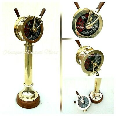 Nautical Brass Engine Order Telegraph Antique Maritime Home Decorative