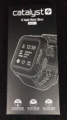 Catalyst Case For 38Mm Apple Watch Series 2/3 - Stealth Black