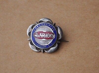 Vintage Clarion pin badge Earlsheaton Cycling club  / Bicycle interest