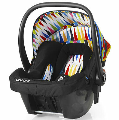 Brand new in box Cosatto giggle 2 hold car seat go brightly from birth to 13kg