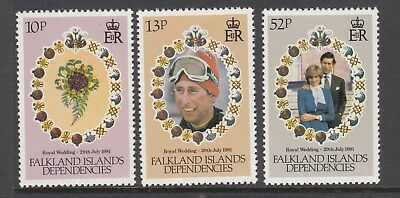 1981 Princess Diana Royal Wedding set MNH (A) Combined postage available for $1