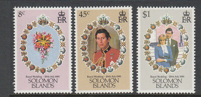1981 Princess Diana Royal Wedding set MNH (M) Combined postage available for $1