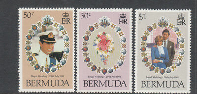 1981 Princess Diana Royal Wedding set MNH (L) Combined postage available for $1