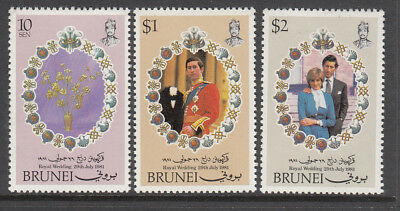 1981 Princess Diana Royal Wedding set MNH (F) Combined postage available for $1
