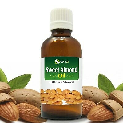 Sweet Almond Oil 100% Natural Pure Undiluted Uncut Carrier Oils 5Ml To 1000Ml