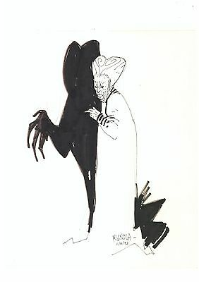 MIKE MIGNOLA Original Art 'DRACULA'