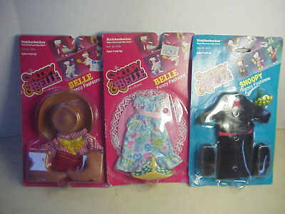 **  SNOOPY & BELLE  ** 3 OUTFITS  mint SOUTHERN BELLE western Formal