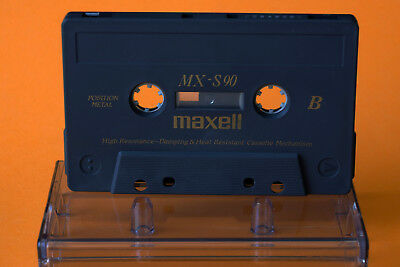 3 x Audio Kassetten Maxell MX-S 90 TYPE IV Metal