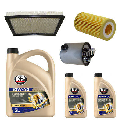 Filter & Oil Kit 2.5L, Cherokee XJ Jeep Comanche MJ 1987/1990 (2.5 L)