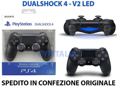 Controller Ps4 Dualshock 4 V2 Nero Playstation 4 Nuovo Sony Jet Black