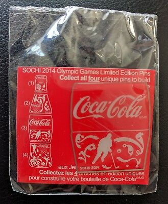 Coca Cola 2014 Sochi Olympic Pin New Sealed