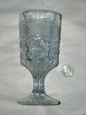 """VTG Anchor Hocking WEXFORD 6 5/8"""" Replacement Stemmed Water Wine Goblet Glass"""