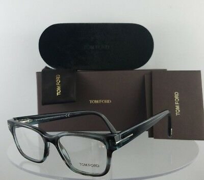 Brand New Authentic Tom Ford Eyeglasses FT TF 5288 055 49mm Blue Grey Frame
