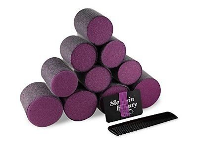 Sleep-In Hair Styling Rollers - Get Big Bouncy Curls Without Dryness or Damage