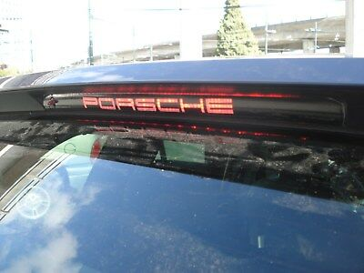 Porsche Cayenne 3rd brake light decal overlay 03 04 05 06 07 08 09 2010