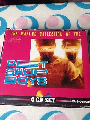 The Maxi Cd Collection Of The Pet Shop Boys