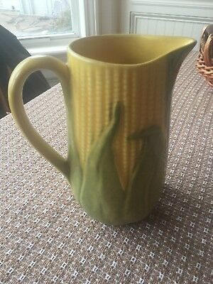 """8 1/4"""" Shawnee Pottery Corn King Pitcher #71 - NO Chips or flaws!"""