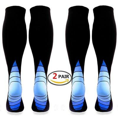 (2 pairs)Compression Socks / Stockings for Men & Women,Better Blood...