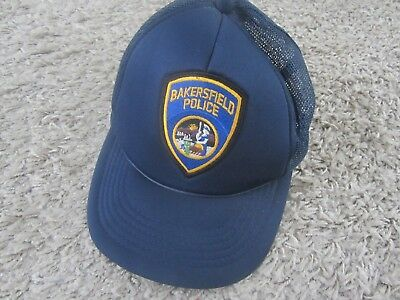 Polizei - Schirmmütze Basecap - USA, Staat Kalifornien, City of Bakersfield