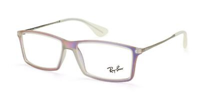 NEW Authentic Ray Ban Matthew RB 7021 5498 Purple Iridescent 52mm RX Eyeglasses