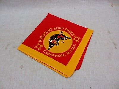 Vintage BSA Boy Scouts of America Philmont Scout Ranch Neckerchief